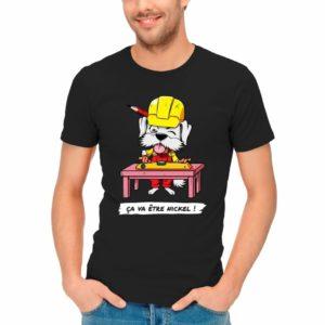 T-shirt LJVS team - ça va être nickel !