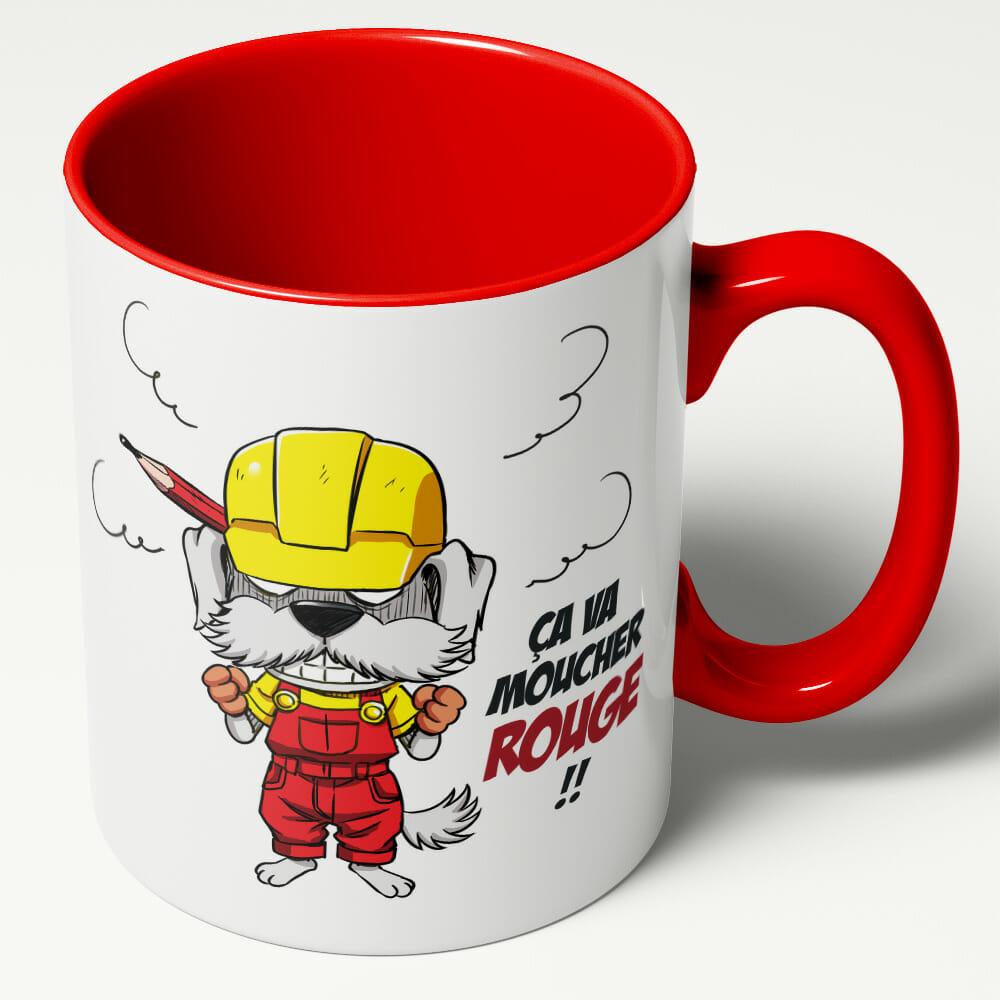 Mug LJVS Team – ça Va Moucher ROUGE !