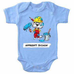 Body Bébé Apprenti Bichon