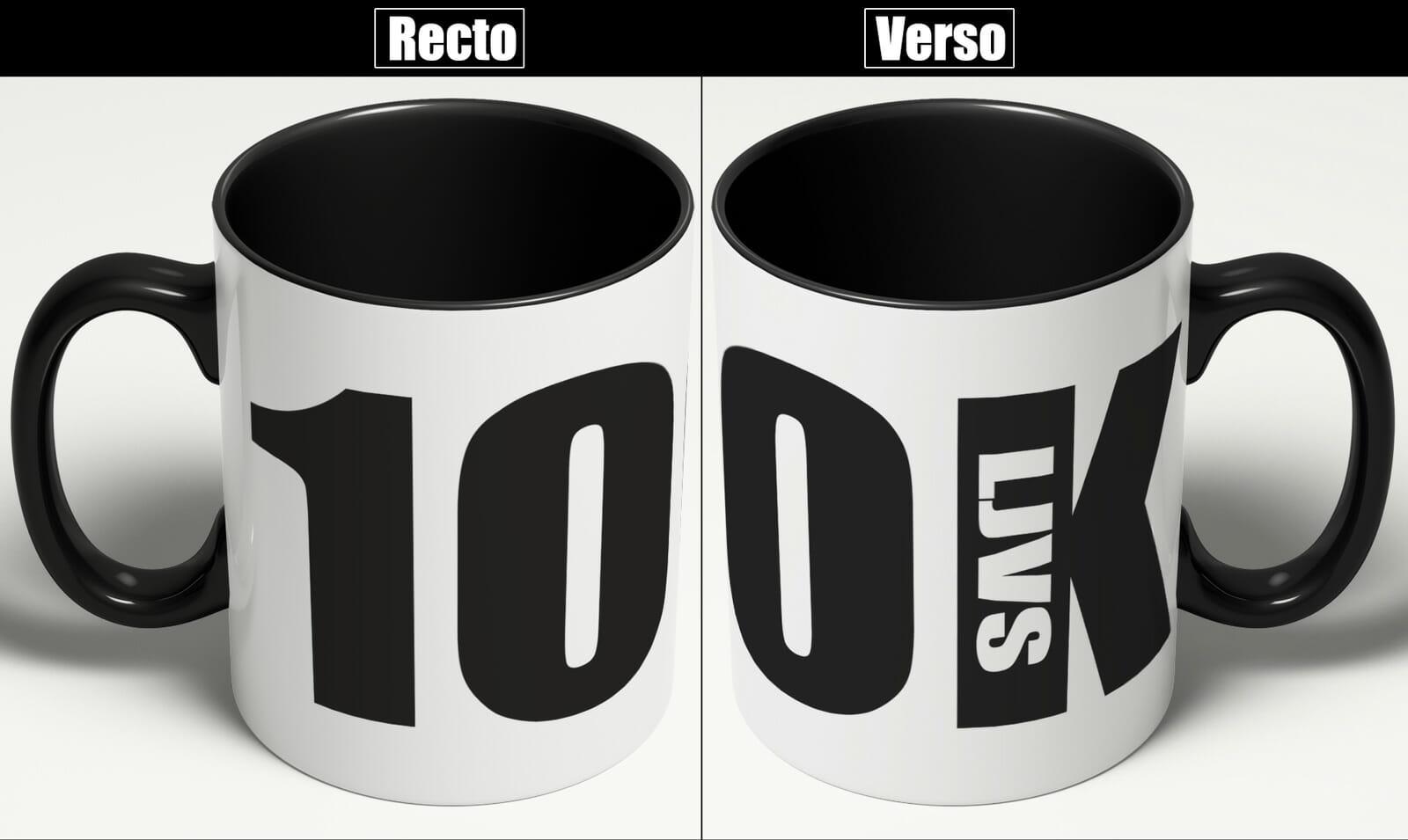 Mug Collector 100K (édition Limitée)